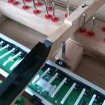 鍵盤下のセンサー